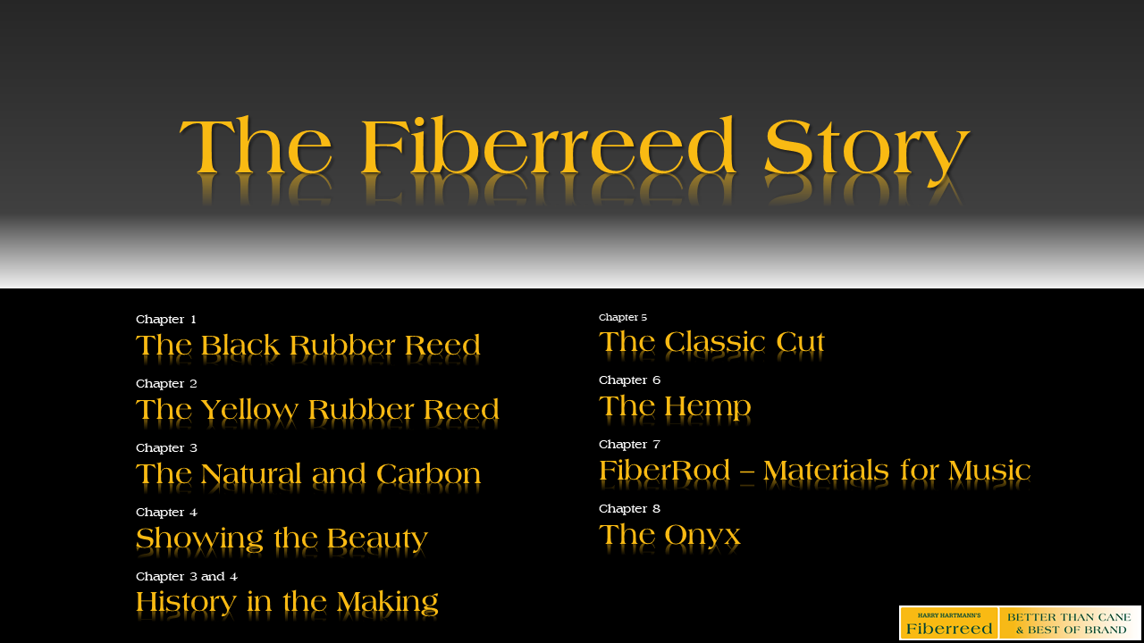 The Fiberreed Story - Table of Contents